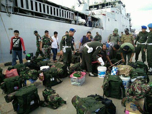 Gabungan TNI Dan Pemda Merauke Sweeping Pemeriksaan Satwa Yang Dilindungi dan Barang Terlarang Terhadap Purna