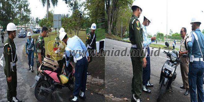 Pom TNI Gelar Razia Gaktip