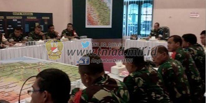 Kodim 0208/Asahan Latihan Posko I Ta. 2016