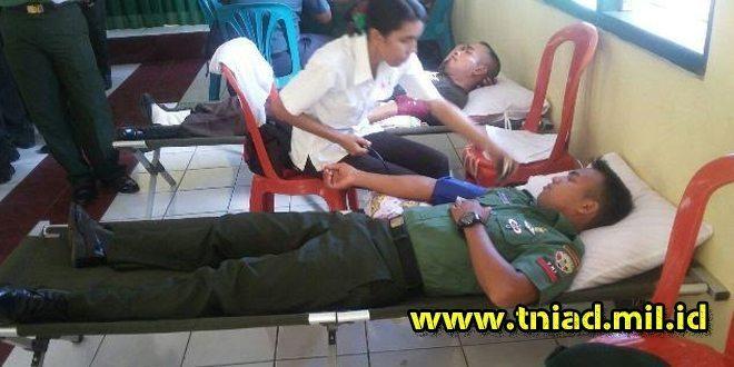 Kodim 1602/Ende Gelar Donor Darah