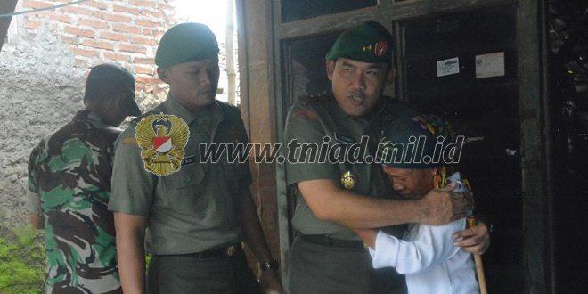 Danpusterad Meninjau Pelaksanaan TMMD ke-96 di Cirebon