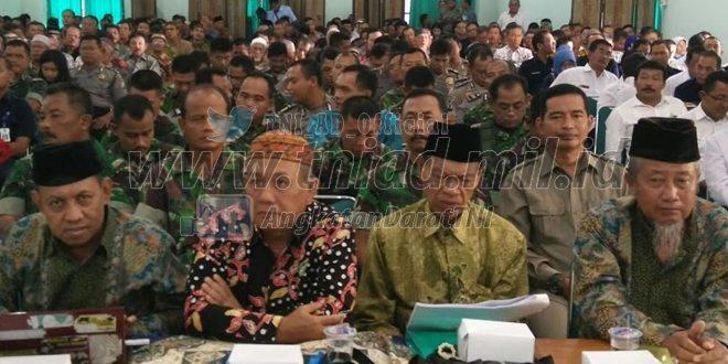Rakor Pengendalian Keamanan Lingkungan Kota Madiun