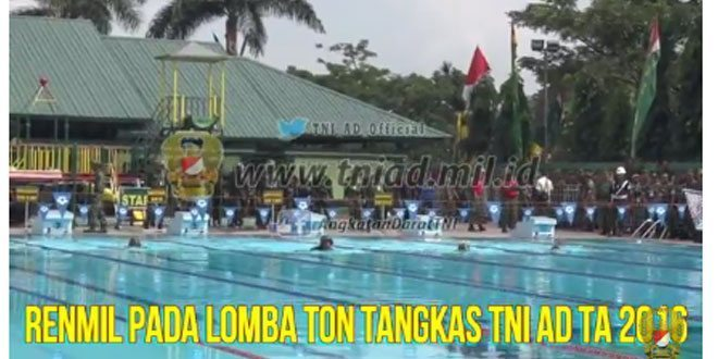 Video Renmil Ton Tangkas TNI AD Ta 2016