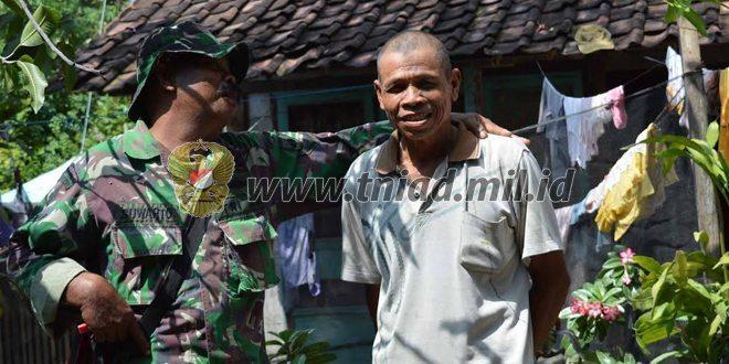 Rumah Selesai Dibedah TNI, Kasiban: Senang Kami Tinggal Di Rumah