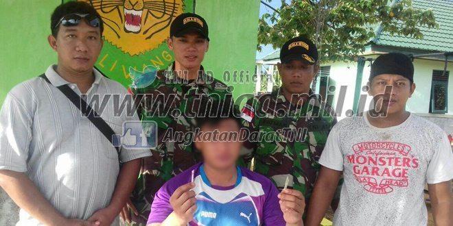 TNI Amankan Warga Negara Malaysia Membawa Sabu-Sabu di Perbatasan