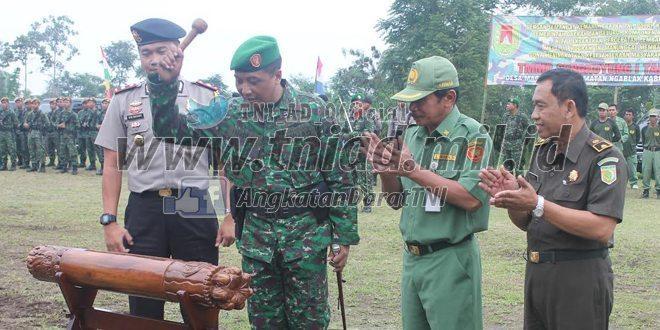 TMMD Sengkuyung I Tahun 2016 Kodim 0705/Magelang Ditutup