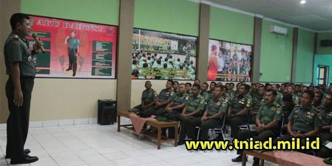 Kunjungan kerja Danrem 063/SGJ ke Kodim 0619/Purwakarta