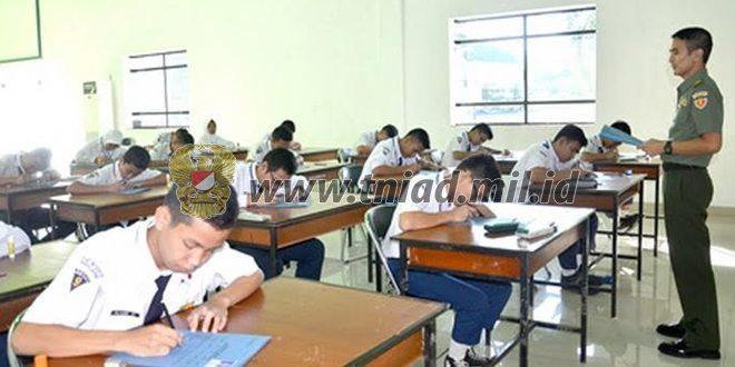 21 Orang Calon Siswa SMA Taruna Nusantara Mengikuti Test Psikologi