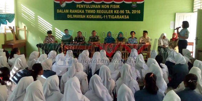 Tegakan Disiplin Dan Patuhi Rambu Lalulintas Di SMAN 18 Kab. Tangerang