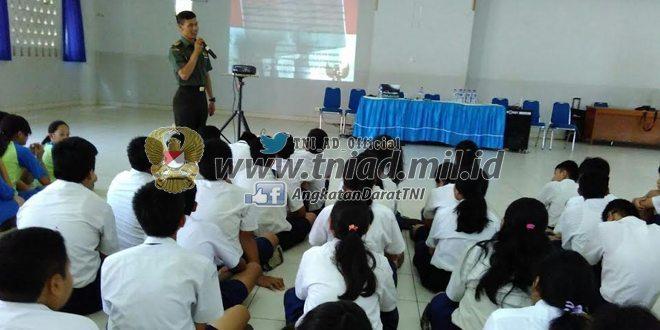 TMMD Non Fisik Wilayah Bekasi Siswa-Siswi SMP Strada Juga Bisa Ikut Serta Dalam Bela Negara