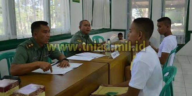 Seleksi Taruna Akademi Militer PD Biak TA 2016