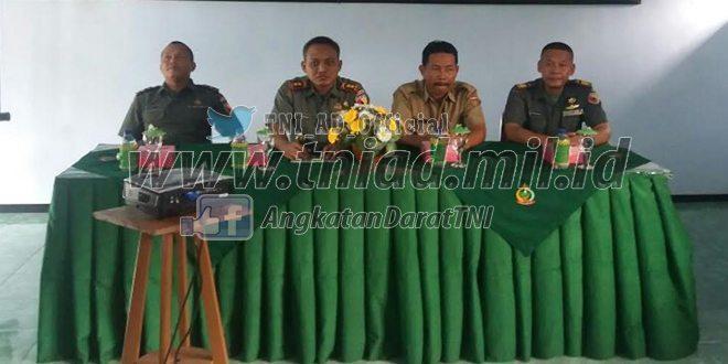 Kodim 0805/Ngawi Melaksanakan Komunikasi Sosial Dengan Aparat Pemerintah Tahun 2016