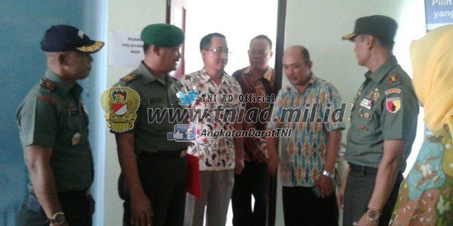Geliat, Program KB Kes TNI tahun 2016 sewilayah Kodim 0830/SU