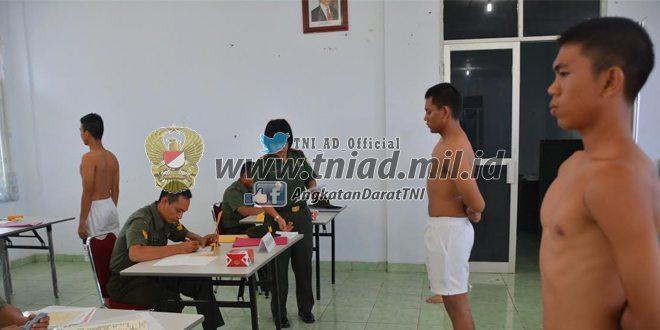 38 Pemuda Bengkulu Ikut Seleksi Taruna Akademi TNI