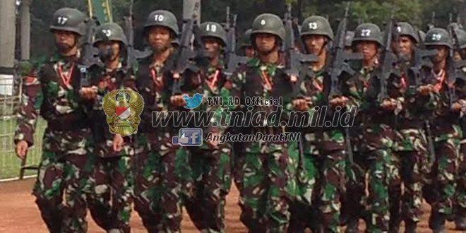 Geladi Upacara Pembukaan Lomba Peleton Tangkas TNI AD Periode 1 TA 2016