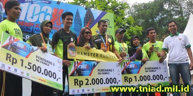 Prajurit Yonif Para Raider 328 Kostrad Raih Juara 1 Merapi Ultra Marathon 100 K Memperingati Hut Ke-100 Kabupaten Sleman