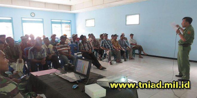 Masyarakat TMMD 96 Jombang, Terima Sosialisasi Tentang Cara Pengelolaan Hasil Perkebunan
