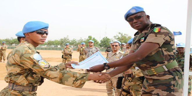 Gagalkan Upaya Pencurian Aset UN di Darfur, Prajurit TNI Dapat Piagam Penghargaan