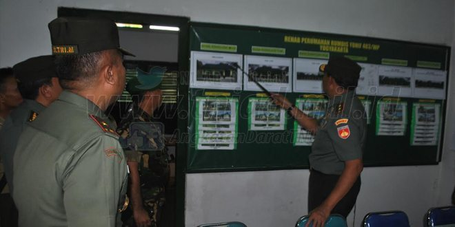 Kunjungan Kerja Pangdam IV/Diponegoro Di Yonif 403/WP