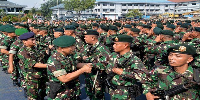 Pangdivif 1 Kostrad Lepas Keberangkatan Yonif Raider 321/GT Kostrad Jaga Perbatasan RI-RDTL