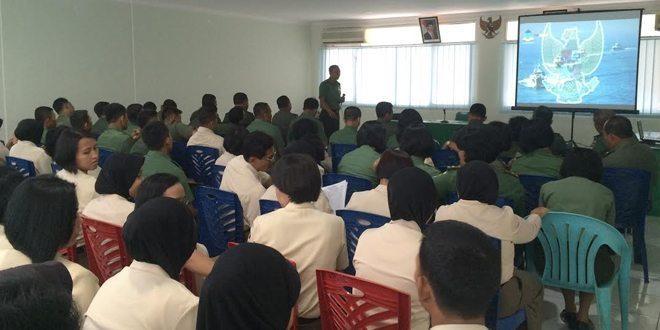 Personel Pendam Jaya dan Hubdam Jaya Menerima Pencerahan Dari Bintaldam Jaya
