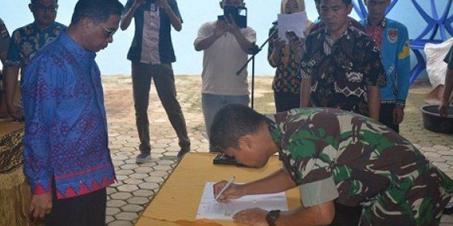Pemerintah Kabupaten Mesuji Gandeng TNI AD Kawal Program P2WD