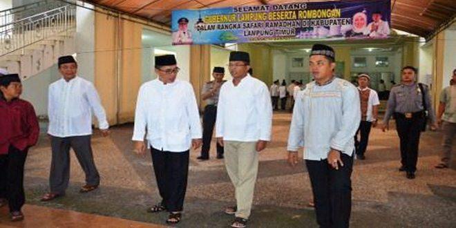 Danrem 043/Gatam Safari Ramadhan ke Pemkab Lampung Timur