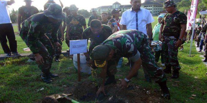 Program Penghijauan Penanaman Pohon di Manokwari