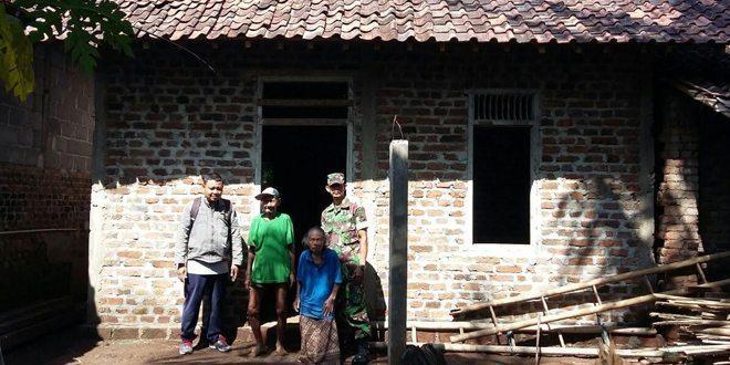 Kodim Sleman Dampingi Program RTLH Bantuan Pemerintah Kab Sleman