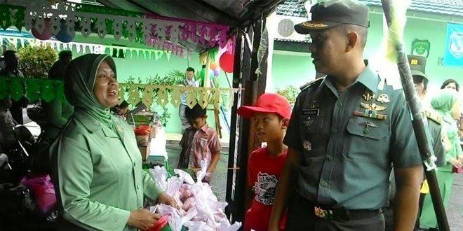 Bazar Murah Ramadhan Kerjasama Arta Graha Peduli Dengan Kodim 0506/TGR
