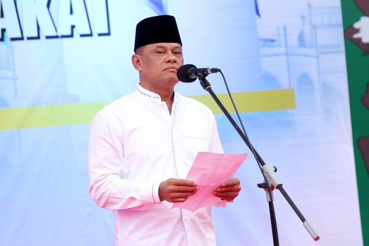 Apresiasi Panglima TNI terhadap Kebersamaan Anggota TNI-Polri di Makassar