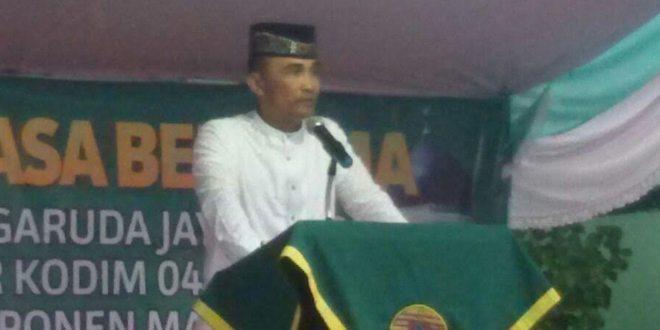 Danrem 045/Garuda Jaya Safari Ramadhan Di Kodim Belitung