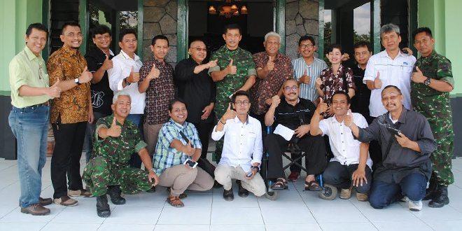 Korem 074/Warastratama Menerima Kunjungan Pengurus PWI Surakarta