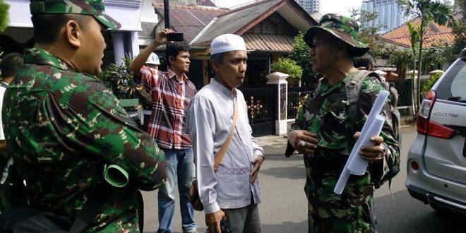Kodam Jaya tertibkan Rumah Dinas di Kebon Jeruk