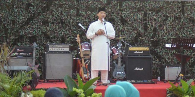 Safari Ramadhan Danbrigif 1 PIK/Jaya Sakti Buka Puasa Bersama Warga Yonif Mekanis 203/AK