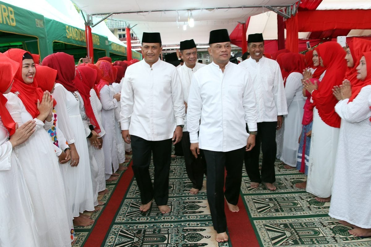 Panglima TNI : Doakan TNI Tetap Dekat Dengan Rakyat