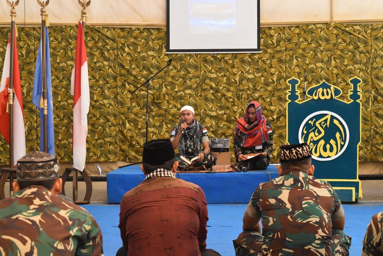 Prajurit TNI Konga XXIII-J/Unifil di Lebanon Peringati Nuzulul Qur'an