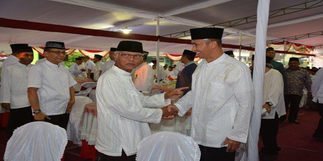 Pangdam V/Brawijaya Pamitan Dalam Acara Safari Ramadhan