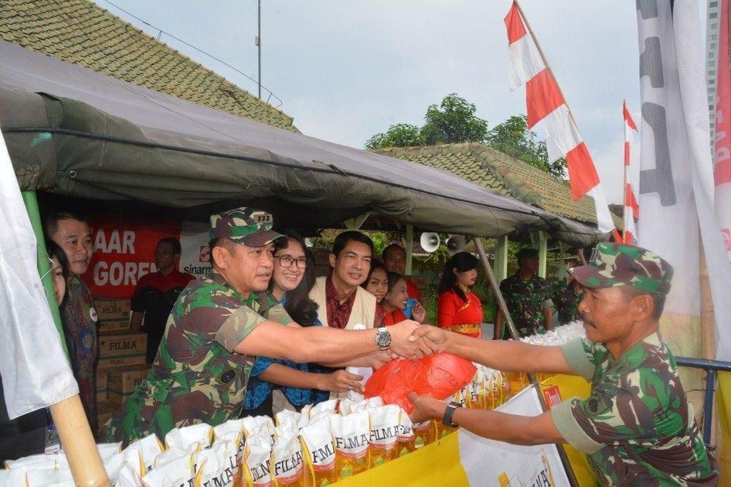 Korem 074/Warastratama selenggarakan Bazar Ramadhan