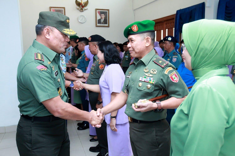 Panglima TNI : Kenaikan Pangkat Bentuk Penghargaan Pimpinan