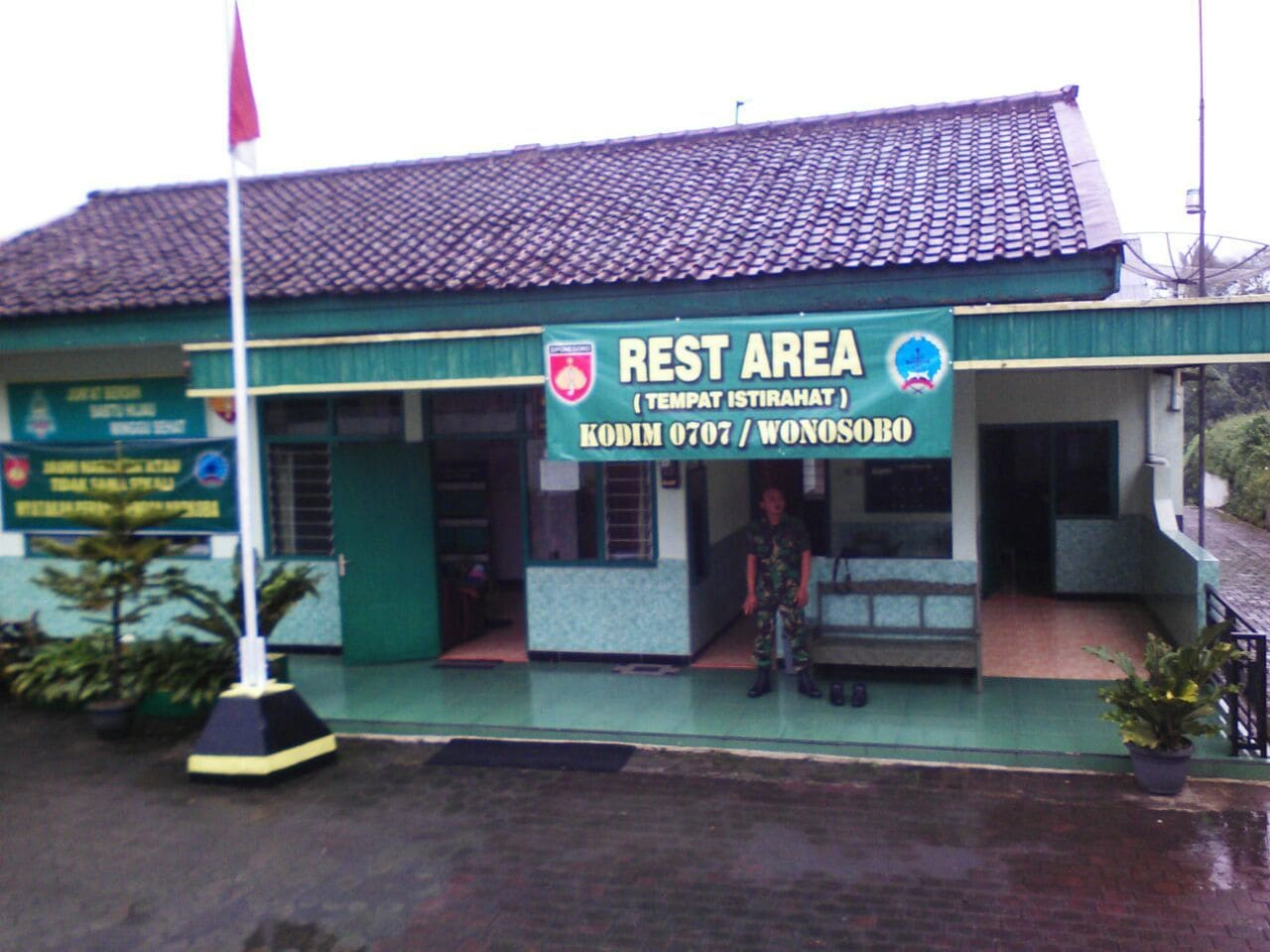 rest area ramil kalikajar