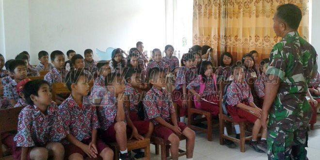 Tokoh Masyarakat Polman Apresiasi Kegiatan Kodim Polmas Mengajar Nilai Pancasila di Sekolah
