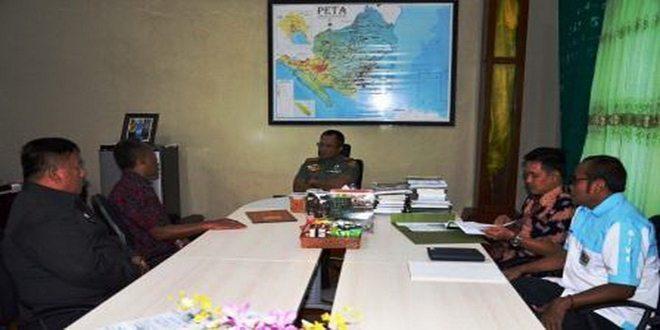 Warga Jaya Indonesia Provinsi Lampung Audiensi Dengan Danrem 043/Gatam