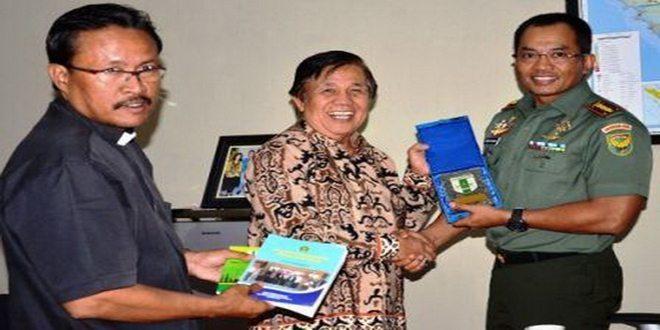Silaturahmi Forum Kerukunan Umat Beragama Provinsi Lampung ke Korem 043/Gatam
