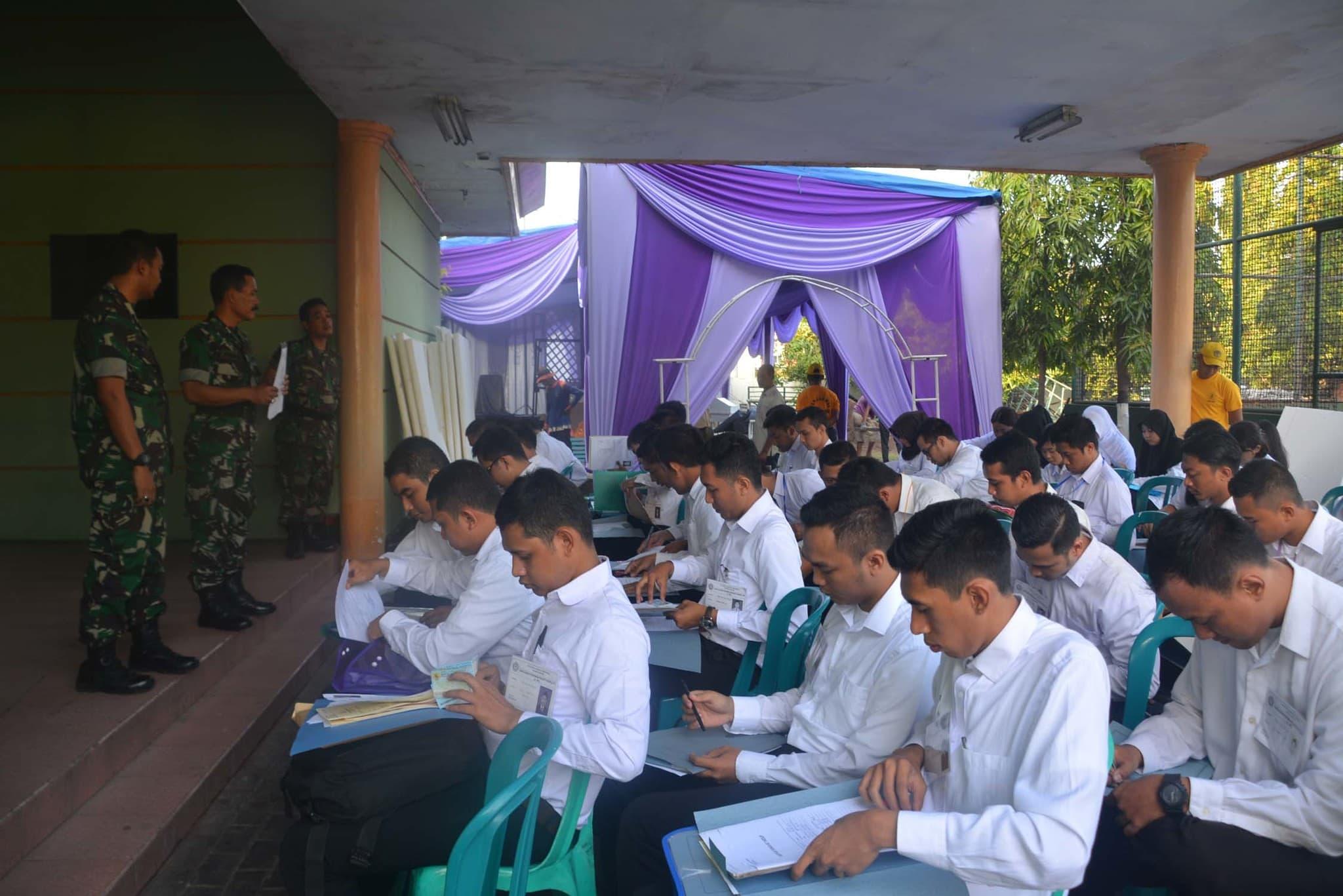 Korem 084/BJ Seleksi Calon Perwira Prajurit Karir Khusus Kesehatan