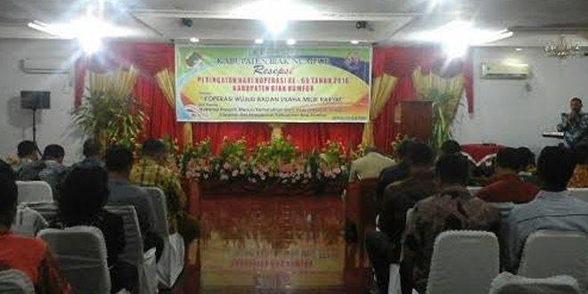 Koperasi Primkopad Kartika Kodim 1708/Bn Meraih Juara Ke-2 Dalam Pelaksanaan Peringatan Hari Koprasi Ke-69