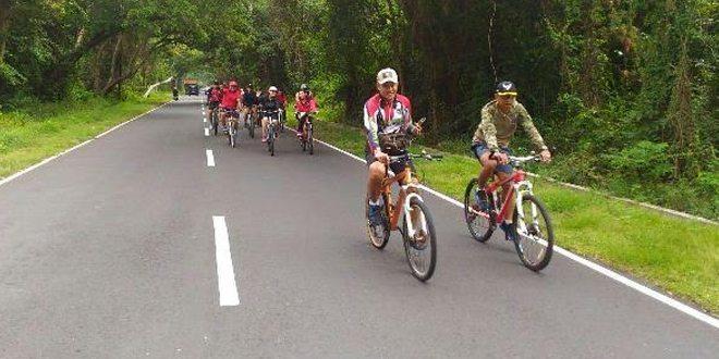 Fun Bike Kodim 1617/Jembrana dengan Yonif Mekanis 741/SBW
