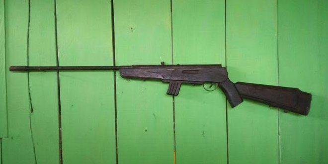 Satgas Armed 12 Kostrad Kembali Mendapatkan Senjata Laras Panjang