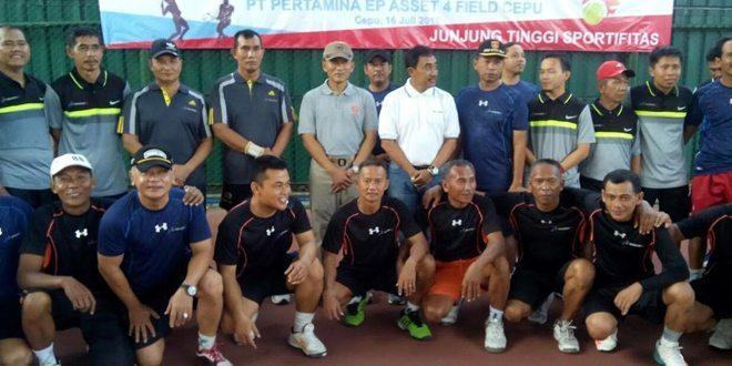 Kodim 0813 Bojonegoro Gelar Lomba Tenis Lapangan Bersama Pertamina EP Aset 4 Field Cepu