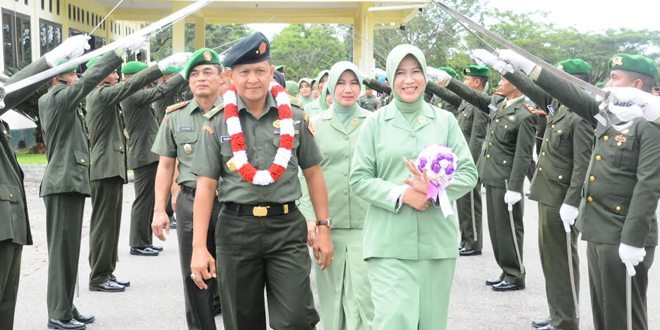 Lepas Sambut Komandan Korem 012/Teuku Umar